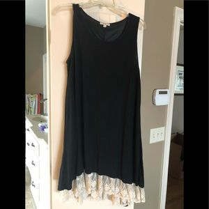 Umgee lace trimmed dress